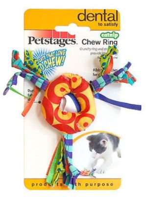 Petstages - Petstages Catnip Chew Ring Catnipli Halka Oyuncak