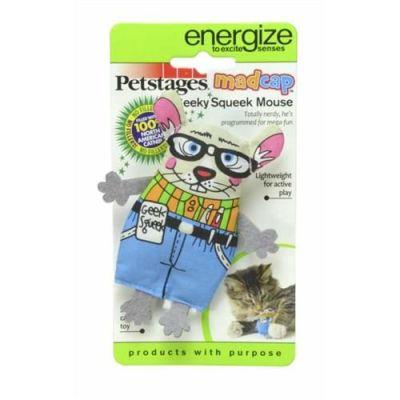 Petstages - Petstages Catnipli Fare Kedi Oyuncağı 15 Cm