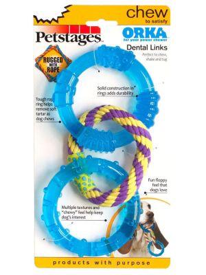 - Petstages Orka Dental Links İkili Köpek Kemirme Oyuncağı