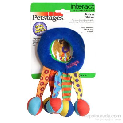 Petstages - Petstages Toss And Shake Halka Köpek Oyuncağı 19 cm