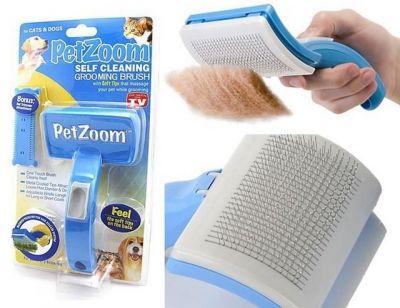 Pet Zoom - Petzoom Tüy Bakım Seti + Tüy Kesici Hediye