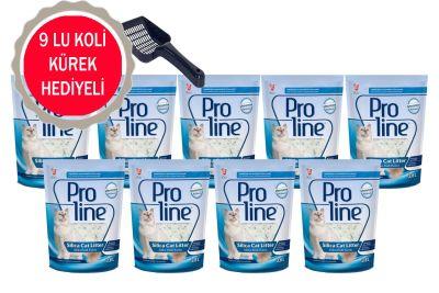 Proline - Pro Line Kristal Kedi Kumu 3,8 Lt - 9 ADET -