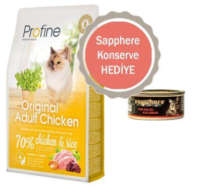 Profine - Profine Original Tavuklu Yetişkin Kedi Maması 2 KG
