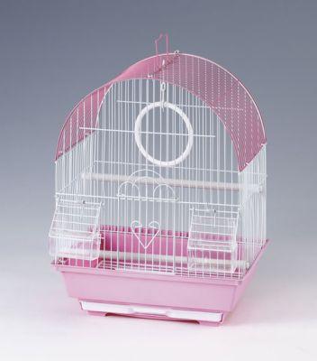 QH PET CAGE - Qh Pet Cage Renkli Kuş Kafesi 30 x 23 x 39 cm