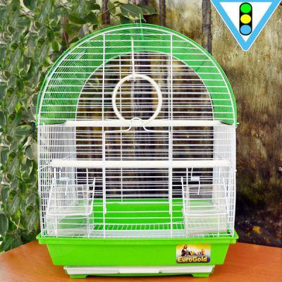 QH PET CAGE - Qh Pet Cage Renkli Kuş Kafesi 34.5 x 28 x 45.5 cm