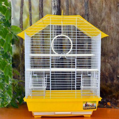 QH PET CAGE - Qh Pet Cage Renkli Kuş Kafesi