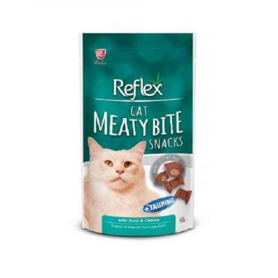 Reflex - Reflex Meaty Bite Ördekli Peynirli Kedi Ödülü 40 gr