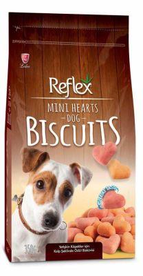 Reflex - Reflex Mix Renkli Kalp Köpek Ödül Bisküvisi 350 gr