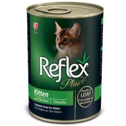 - Reflex Plus Tavuklu Yavru Kedi Konservesi 400 Gr
