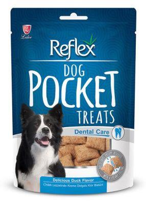 Reflex - Reflex Pocket Diş Sağlığı için Ördekli Köpek Ödülü 95 Gr