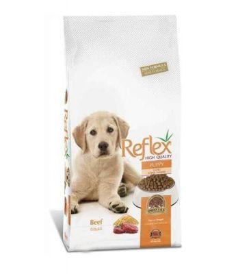 Reflex - Reflex Premium Biftekli Büyük Irk Yavru Köpek Maması 3 Kg
