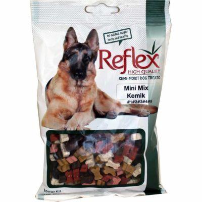 Reflex - Reflex Semi Moist Mini Mix Kemik Köpek Ödülü 150 Gr