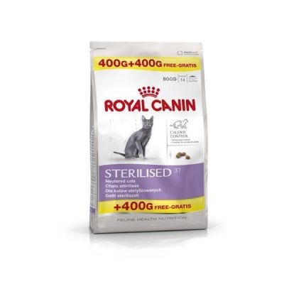 Royal Canin - Royal Canin FHN Sterilised 37 Kısırlaştırılmış Kedi Maması 400+400