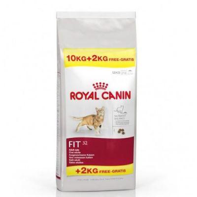 Royal Canin - Royal Canin Fit 32 Kedi Maması 10 KG + 2KG