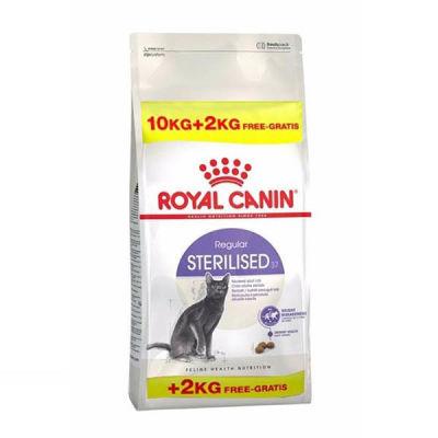 Royal Canin - Royal Canin Sterilised Kısırlaştırılmış Kedi Maması 10 + 2 Kg