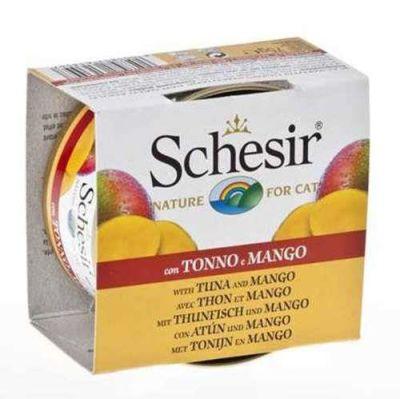 Schesir - Schesir Ton Balığı ve Mangolu Kedi Konservesi 75 Gr