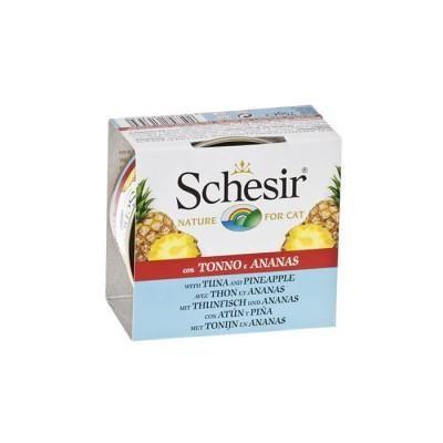 Schesir - Schesir Ton Balıklı Ve Ananaslı Kedi Konservesi 75 gr