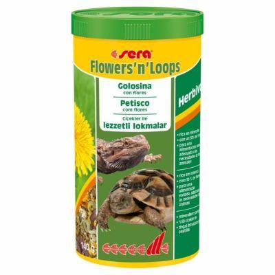 Sera - Sera Flowers n Loops Kaplumbağa Yemi 1000 ML