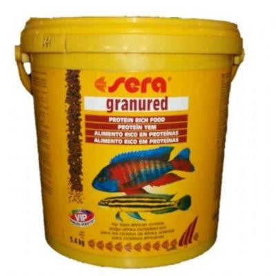Sera - Sera Granured Yüksek Proteinli Balık Yemi 1KG ORJİNAL KOVADAN