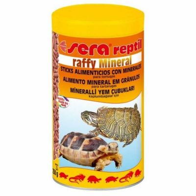 Sera - Sera Raffy Mineral Kaplumbağa ve Sürüngen Yemi 1000 ml