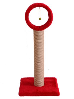 - Star Çemberli Kedi Tırmalama Kırmızı