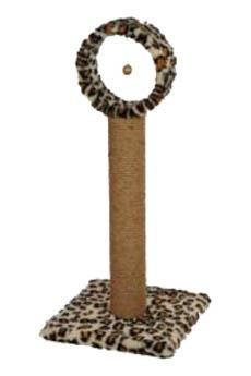 - Star Çemberli Kedi Tırmalama Leopar