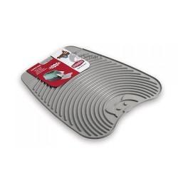 Stefanplast - Stefanplast Sert Plastik Tuvalet Önü Kedi Paspası 39x34 Cm