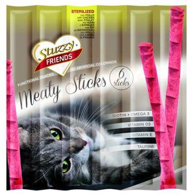 Stuzzy - Stuzzy Friends Kısırlaştırılmış Sticks Kedi Ödülü 6x5 Gr