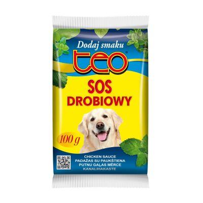 Diğer - Teo Köpek Maması Lezzet Sosu Tavuklu 100 Gr