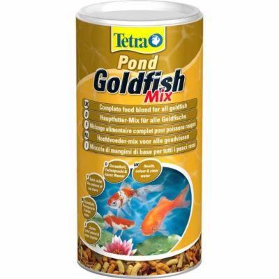 Tetra - Tetra Pond Goldfish Mix Balık Yemi 1000ml