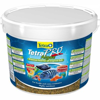 Tetra - Tetra Pro Algae Crisp Balık Yemi 10 Lt