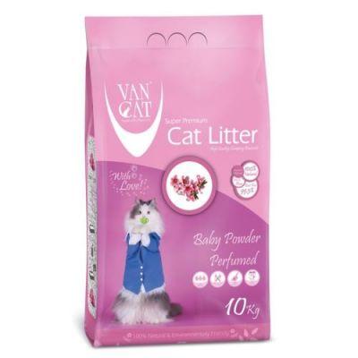 Diğer - Vancat Baby Power Kokulu Kalın Taneli Kedi Kumu 10 Kg