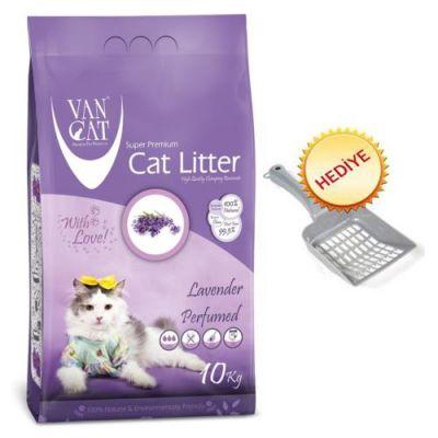 - Vancat Lavanta Kokulu Kalın Taneli Kedi Kumu 10 Kg