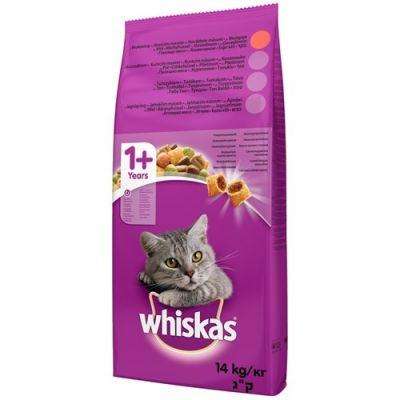 Whiskas - Whiskas Kuru Yetişkin Biftek ve Havuçlu Kedi Maması 14 kg
