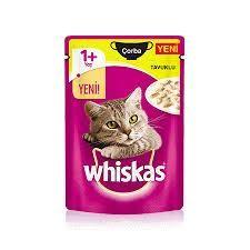 Whiskas - Whiskas Pouch Çorba Tavuk Etli Yaş Kedi Maması 85 gr