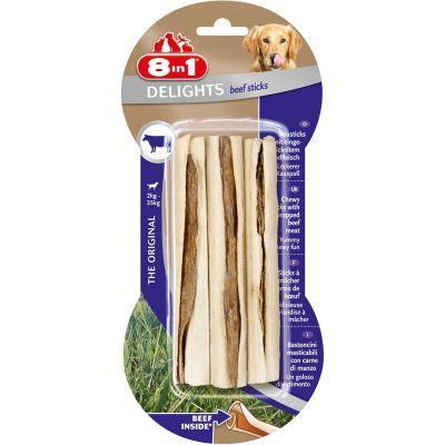 8 in 1 - 8in1 Beef Delights Sticks Bİftekli Ödül Kemiği 3 lü