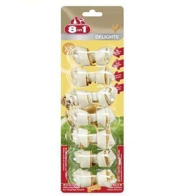 8 in 1 - 8in1 Delights Bones Köpek Ödül Kemiği 7\'li XS
