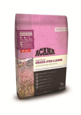 Acana - Acana Grass-Fed Lamb Kuzu Etli Elmalı Yetişkin Kuru Köpek Maması 17 Kg