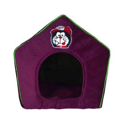 Allfi Pet - Allfi Pet Kumaş Kedi Evi Mor