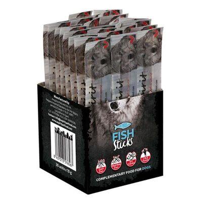 Alpha Spirit - Alpha Spirit Balıklı Sticks Köpek Ödülü 10 Gr 10 Adet