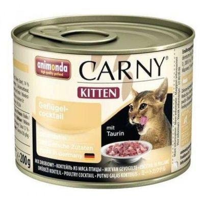 Animonda - Animonda Carny Kitten Kümes Hayvanlı Yavru Kedi Konservesi 200Gr