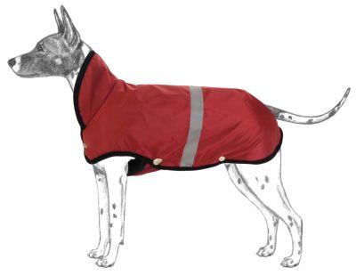 Diğer - Apco Köpekler İçin Yağmurluk Kırmızı Büyük Irklar
