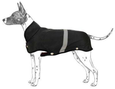 Diğer - Apco Köpekler İçin Yağmurluk Siyah Orta Irklar