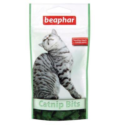 Beaphar - Beaphar Catnip Bits Gevrek Tablet 35 Gr