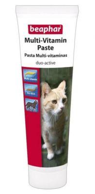 Beaphar - Beaphar Duo-Active Multi Vitamin Kedi Macunu 100gr