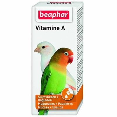Beaphar - Beaphar Kuşlar İçin A Vitamini 20 ml