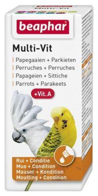 Beaphar - Beaphar Muhabbet Kuşları ve Papağanlar için Vitamin 20 ml