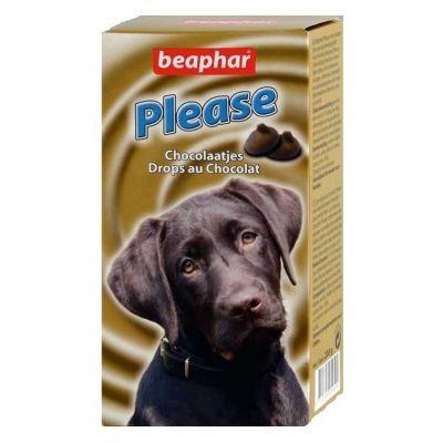 Beaphar - Beaphar Please Köpek İçin Vitamin-Mineral Katkılı Çikolata 200 GR