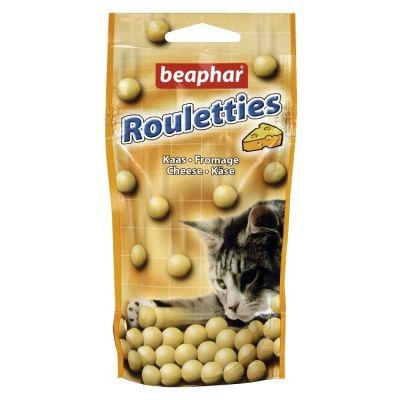 Beaphar - Beaphar Rouletties Peynirli Kedi Ödül Tableti 44.2 Gr