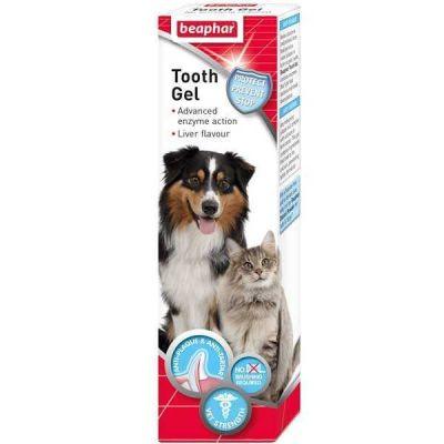 Beaphar - Beaphar Tooth Gel Kedi Köpek Ağız Bakım Jeli 100 ml